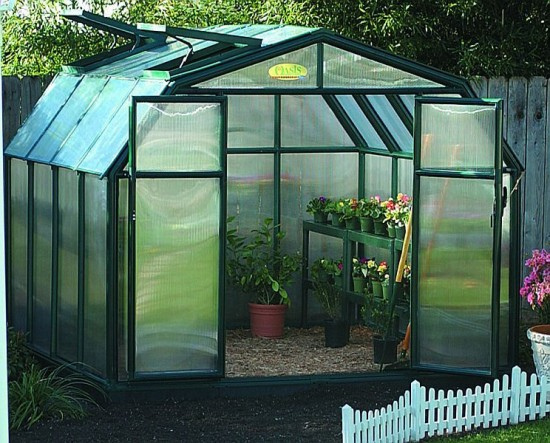 Make your own greenhouse – a microclimate in your backyard.
