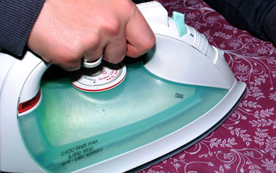 Ironing – an ancient skill – but are there green alternatives?