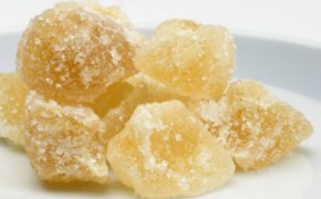 Crystallized or Glacé Ginger (my mother's recipe).