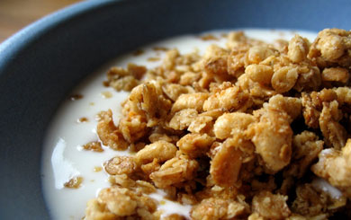 Make your own muesli for a great start to the day.