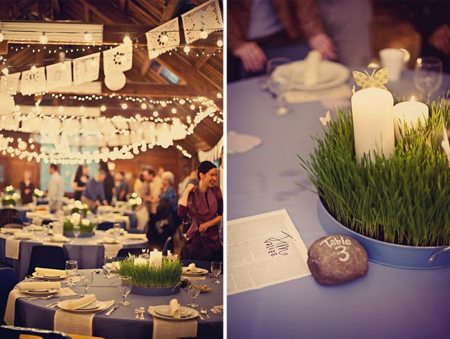 Our top tips for eco wedding decorations and floral arrangements