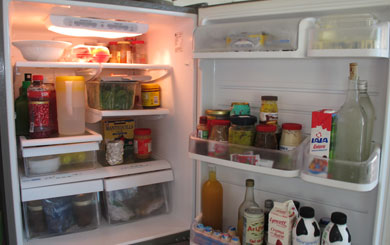 How often do you clean your fridge?