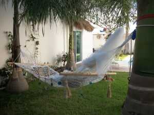 Finished hammock