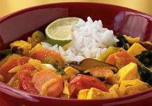 Meat Free Mid Week Recipe – Tofu & Vegetable Hot Pot