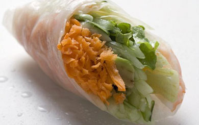 Meat Free Mid Week Recipes – Vegetarian Vietnamese Summer Rolls
