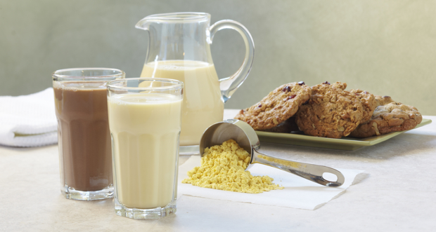 For Eco-Friendly Santas: Algae Milk and Cookies
