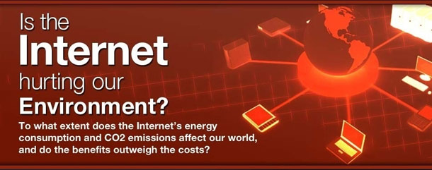 Is the Internet hurting the Environment?