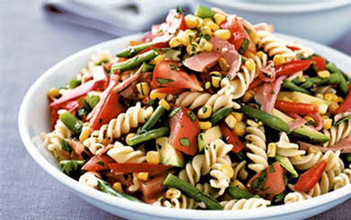 Meat Free Mid Week Recipe – P90X Vegan Pasta Salad