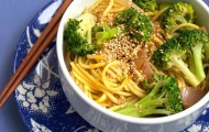 Meat Free Mid Week Recipe – Broccoli Curry Udon