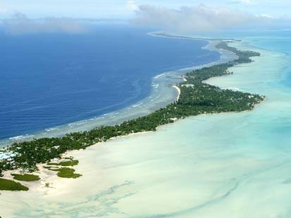 The rising waters of Kiribati