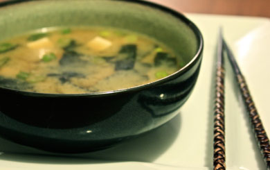 Meat Free Mid Week Recipe – Miso Soup
