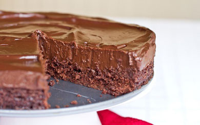 Vegan Mid Week Recipe – Chilled Double Chocolate Torte: The No-Bake Version