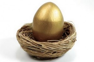 Santa, can you please deliver my Golden Egg ASAP!
