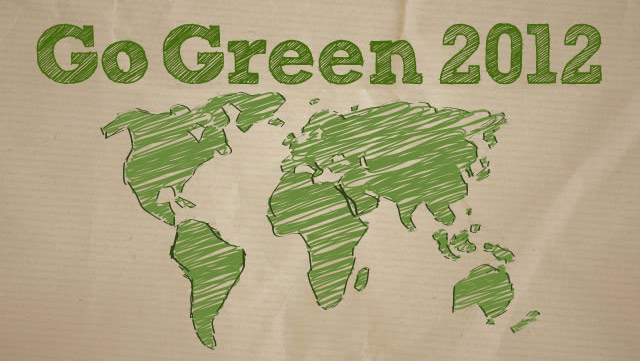 Easy ways to green 2012