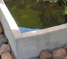 Concrete tanks are very alkaline
