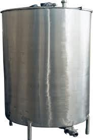 stainless steel milk vat