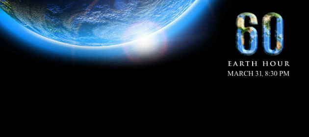 Earth Hour 2012 – Tomorrow Night!