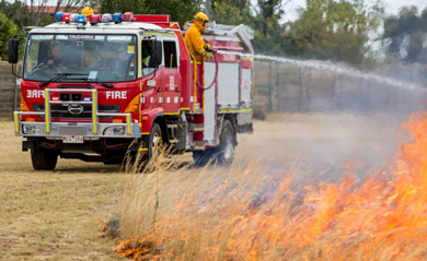 The importance of knowing your trigger to leave early on fire risk days