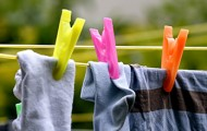 Life is on the line, clothes line that is!